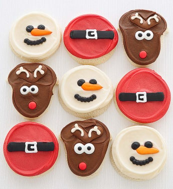 Cheryl's Hand Decorated Holiday Cutout Cookies