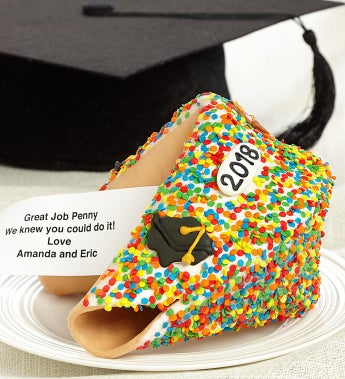 Personalized Gigantic Graduation Fortune Cookie - Personalized Gigantic Graduation Fortune Cookie