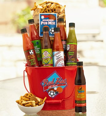 Sports Fever Hot Sauce Gift
