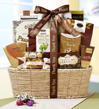 Thank You So Very Much Gourmet Gift Basket