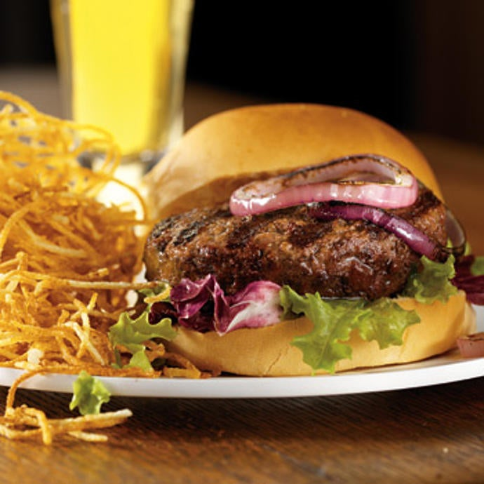 USDA Prime  Choice Steak Burgers  Stock Yards