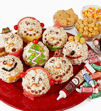 The Popcorn Factory®  Ball Decorating Kit