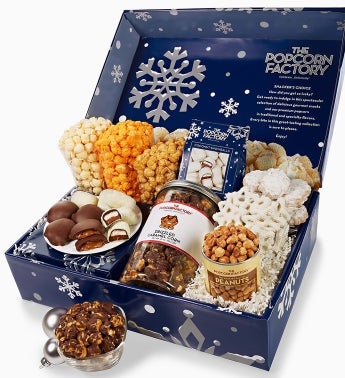 The Popcorn Factory® Snowy Night Snacker's Choice