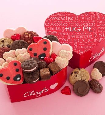 Cheryl's Heart Shaped Gift Box Hug Bugs