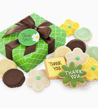 Cheryl's Spring Daisy Thank You Cookies