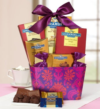 Lovin' Ghirardelli®  Chocolate Basket
