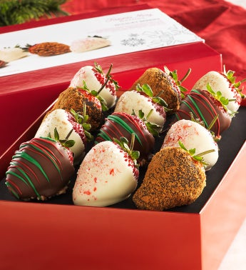 Fannie May® Holiday Chocolate Strawberries