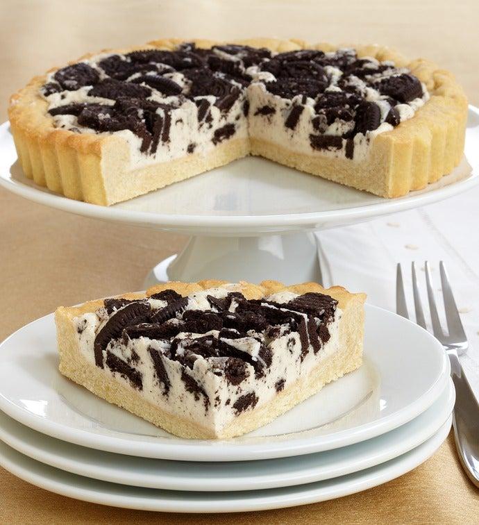 Irresistible Oreo® Black & White Cookie Pie - Irresistible Oreo® Black & White Cookie Pie