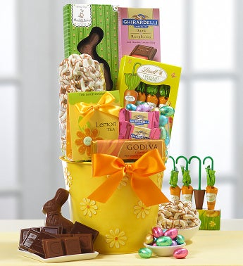 Gourmet Chocolate & Sweets Easter Gift Basket