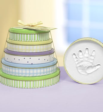 Tower Of Time® 5 Year Baby Handprint Kit - Tower Of Time® 5 Year Baby Handprint Kit
