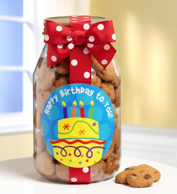 You Take The Cake! Happy Birthday Cookies Jar - You Take The Cake! Happy Birthday Cookies Jar