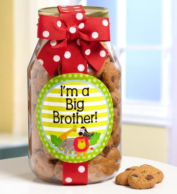 I'm A Big Brother! Chocolate Chip Cookie Jar - I'm A Big Brother! Chocolate Chip Cookie Jar