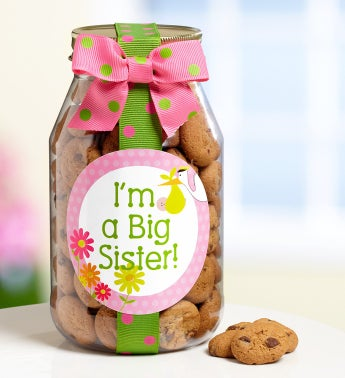 I'm A Big Sister! Chocolate Chip Cookie Jar - I'm A Big Sister! Chocolate Chip Cookie Jar