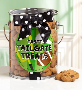 Tailgate Treats Chocolate Chip Cookies In A Can - Tailgate Treats Chocolate Chip Cookies In A Can