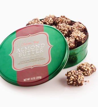 Fannie May® Almond Buttercrunch Tin