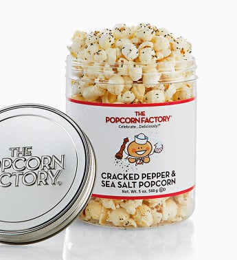 Popcorn Factory Cracked Pepper & Sea Salt Sampler