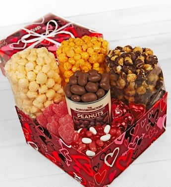 The Popcorn Factory® Graffiti Hearts Sampler