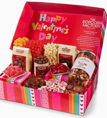The Popcorn Factory® Happy V-day Gift Box