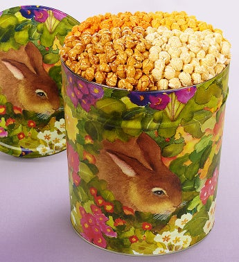 The Popcorn Factory® Garden Bunny Popcorn Tin