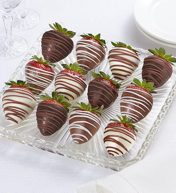 Fannie May Decadent Chocolate Covered Strawberries-Fannie May Decadent Chocolate Covered Strawberries