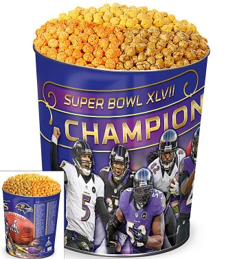 Baltimore Ravens® Super Bowl XLVII® Popcorn Tin