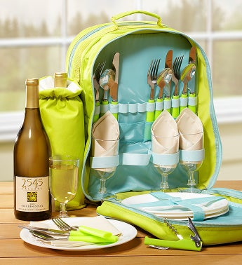 Ultimate Wine Picnic Backpack