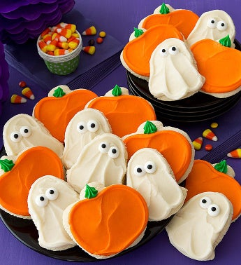 Cheryl's Pumpkin & Ghost Cutouts