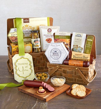 Delectable Duo Gourmet Gift Baskets - Delectable Duo Gourmet Gift Baskets