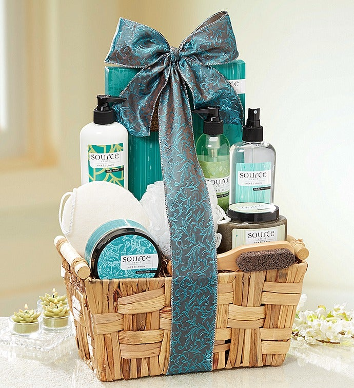Rain Spa Gift Basket