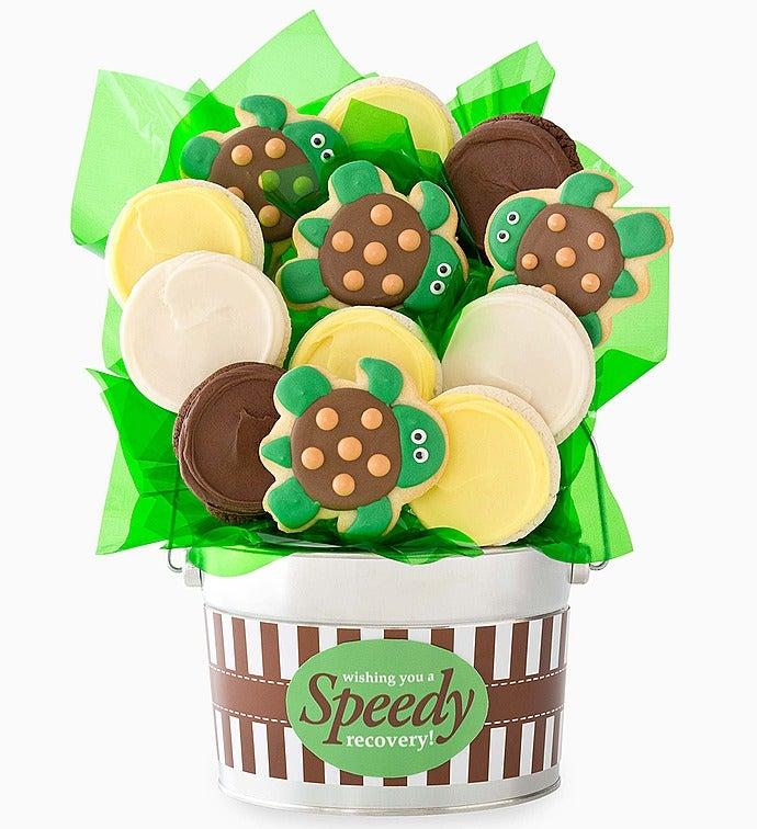 Cheryl's Speedy Recovery Cookie Flower Pot - Cheryl's Speedy Recovery Cookie Flower Pot 12Ct