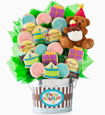 Cheryl's Grand Cookie Flower Pot-Birthday