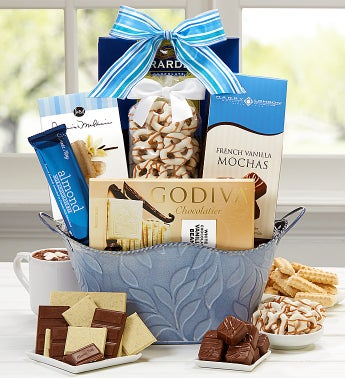 I Love You Mom Divine Chocolate Basket
