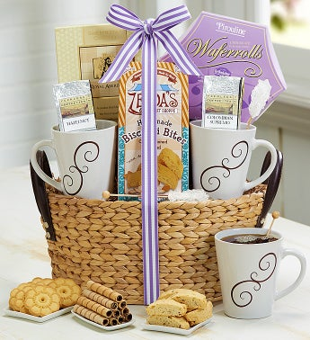 Ultimate Coffee Break Gift Basket