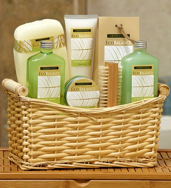 EcoBalance Lemon Eucalyptus Spa Basket