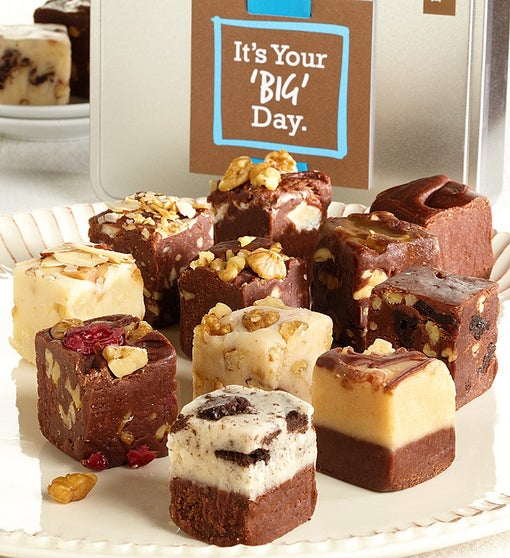 It's Your BIG Day! Gourmet Fudge Tin