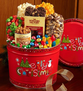 The Popcorn Factory® Merry Christmas Snack Assortment.
