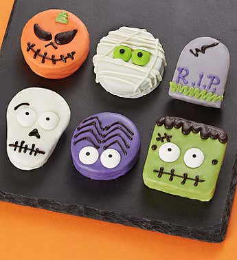Spooky 'n Scary Mini Brownie Cakes