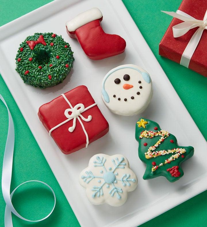 Christmas Sweets Mini Brownie Cakes