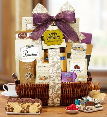 Happy Birthday Tastes Gift Basket
