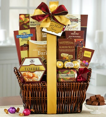 Our #1 Get Well Soon Deluxe Balsam Gift Basket - Get Well Soon Deluxe Balsam Gift Basket