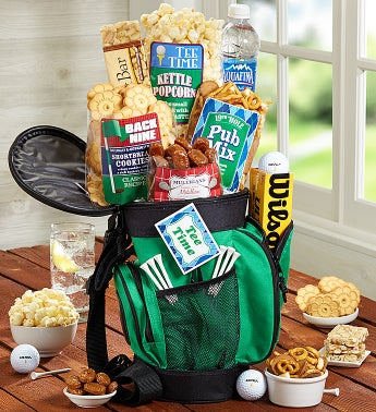 Cool Golf Bag of Snacks