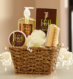 Eco Verbena Botanicals Spa Basket
