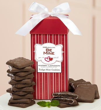 Be Mine Fudge Mint Cookie Present