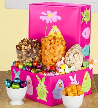 Popcorn Easter Friends Sampler Box