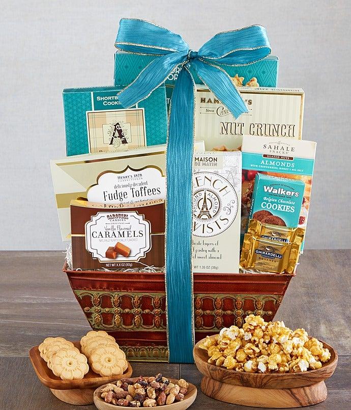 Majestic Grandeur Gourmet Gift Basket - Majestic Grandeur Gourmet Gift Basket