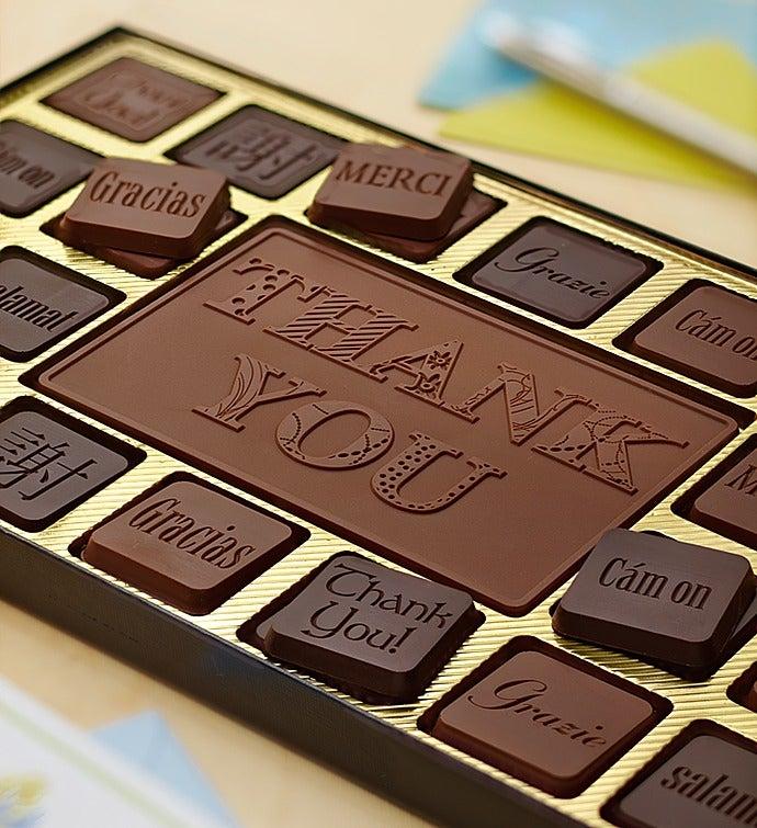 Thank You Personalized Chocolate Box