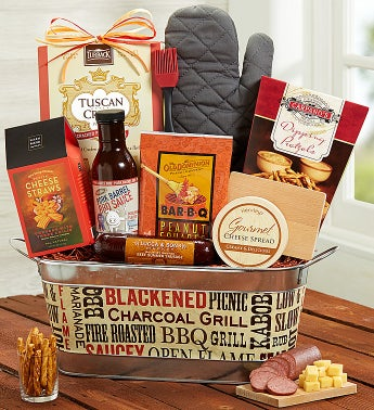 Classic Grill Basket with Award-Winning BBQ Sauce