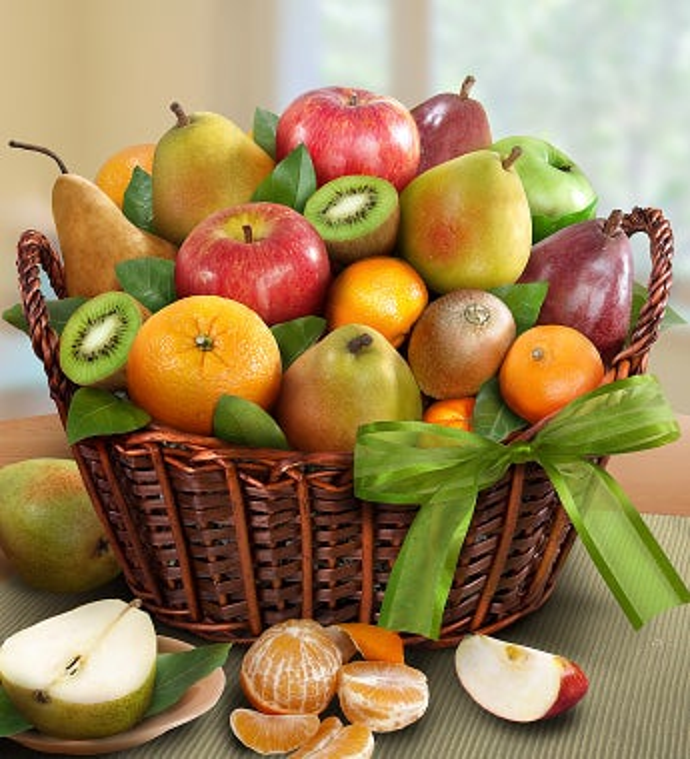 Premier Orchard Fruit Gift Basket - Gluten Free - Premier Orchard Fruit Gift Basket - Gluten Free
