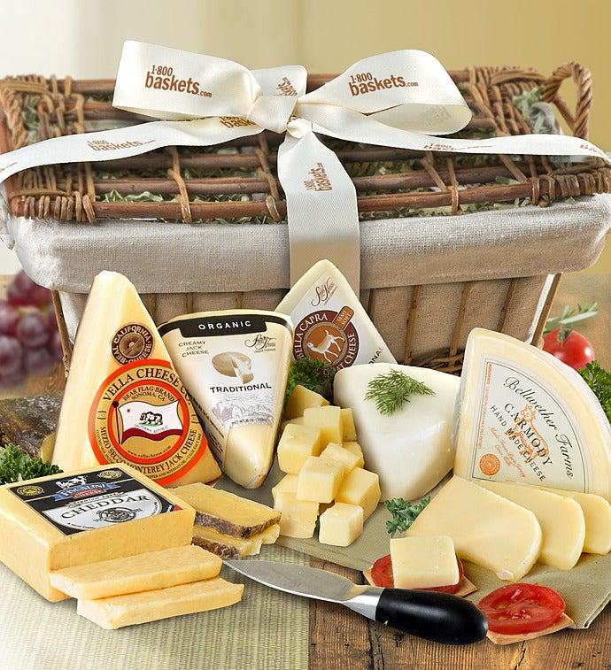 Premium Handcrafted Cheese Hamper - Gluten Free-Premium Handcrafted Cheese Hamper - Gluten Free