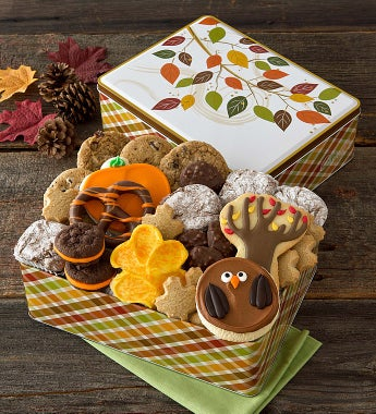 Cheryl's Autumn Treats Gift Tin